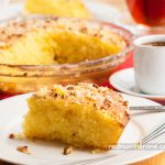 Shamali cake (semolina cake, basbousa