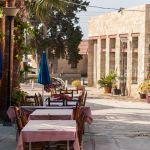 Fish tavern. Zygi streets. Cyprus.