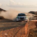 Cyprus rally 2015. Driver Fikri MACILA, co-driver Mehmet MIŞON. Fikri MACILA TEAM. Final stage. Tseri, Nicosia. Cyprus, 27 september 2015.